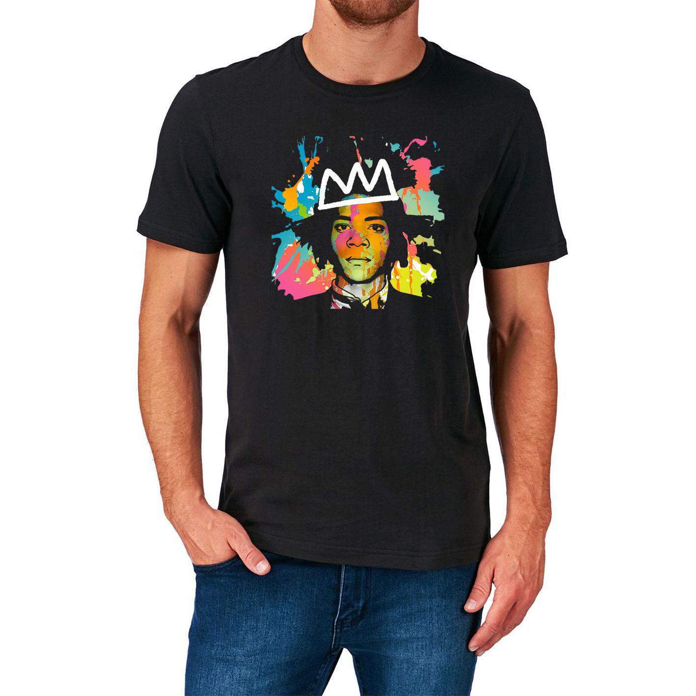 Jean Michel Basquiat T Shirt Graffiti New York 70S 80S 90S