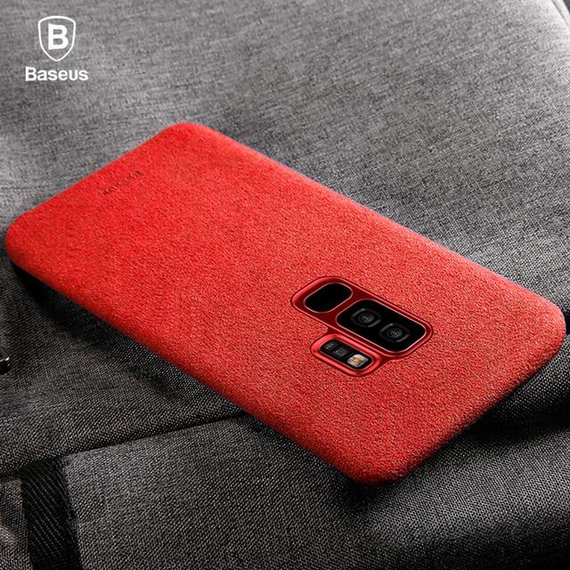 Baseus Alcantara Fabric Case for Samsung S9 S9Plus