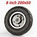 """200 MM Pneu Scooter Elétrica Com Cubo de Roda 8 """"Liga de Alumínio Da Roda Do Veículo Pneu Inflação do Pneu Scooter Elétrico"""