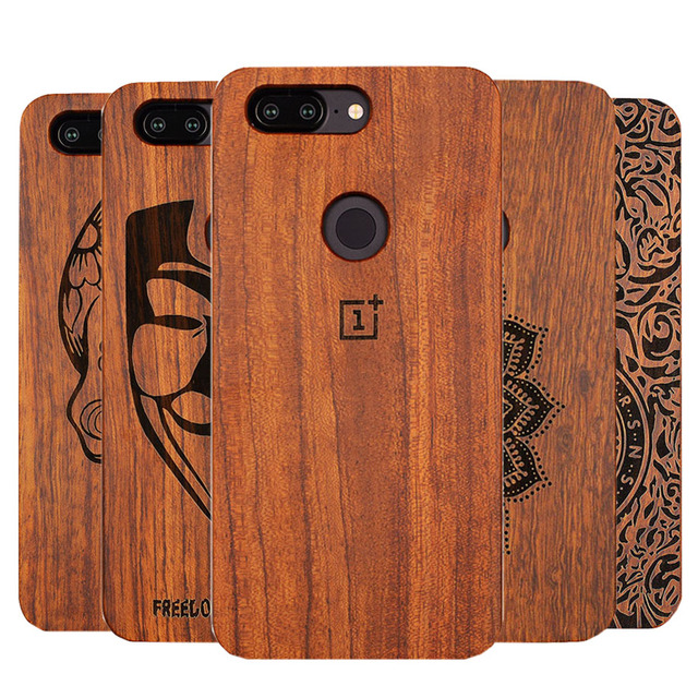 separation shoes 9003e dfb9d Unique OnePlus 5t A5100 Slim Bamboo Wood PC Back Cover Case For Oneplus  Oneplus 5T Phone Cases