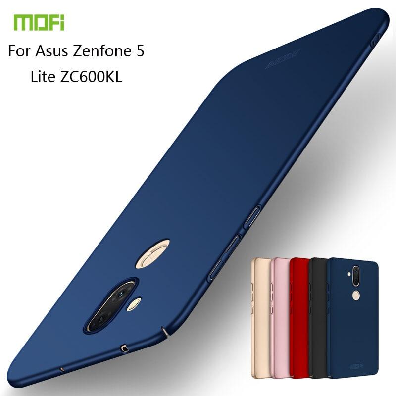 Pour Asus Zenfone 5 Lite ZC600KL Couverture Cas MOFI PC Dur Cas Pour Asus Zenfone 5 Lite ZC600KL Téléphone Shell
