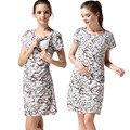 Emoção mães floral verão roupas de enfermagem da maternidade de enfermagem dress vestidos de amamentação para as mulheres grávidas roupa de maternidade