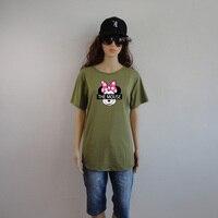 T Shirts Fashion 2017 Long Arc 3d Tshirt Summer T Shirt Women Casual Short Sleeve
