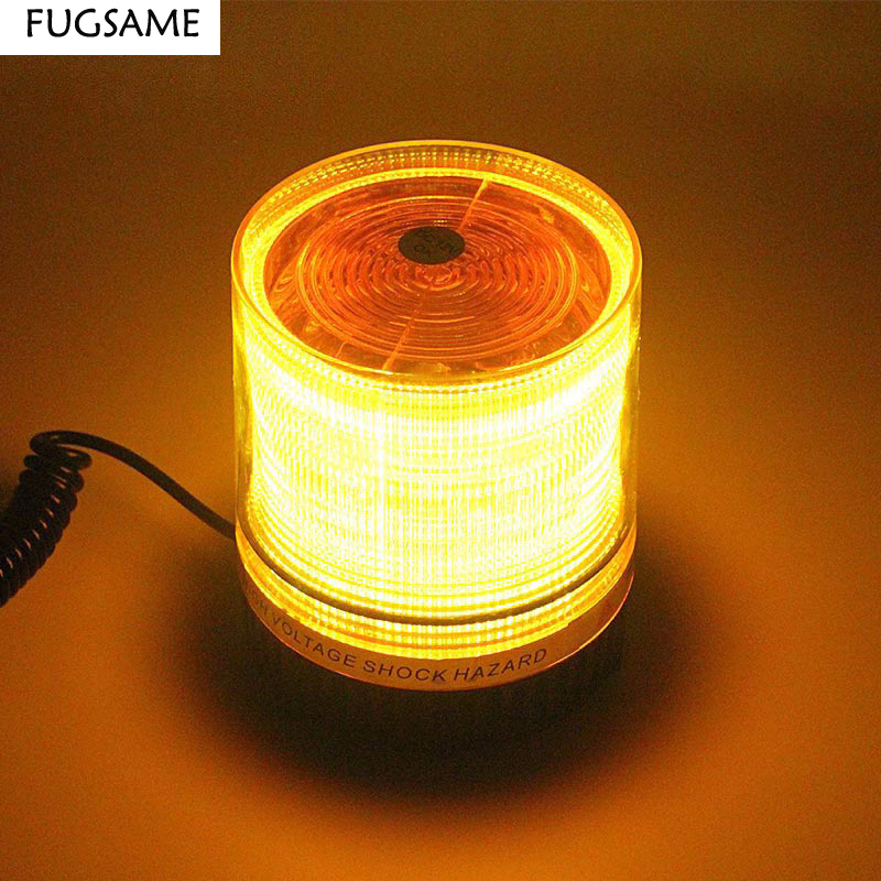 Free Shipping Hot Car decoration lamp led flash lamp refires roof lights general warning light lamp ceiling accessories in Signal Lamp from Automobiles Motorcycles