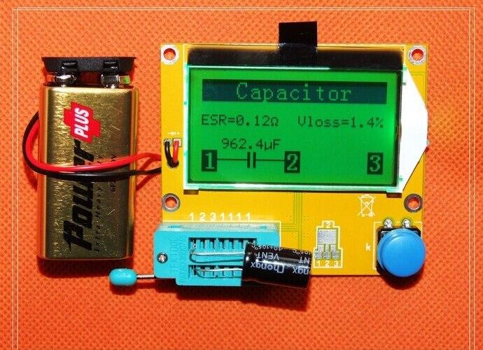 Diy Esr Meter : Aliexpress buy new diy kits lcd mega transistor