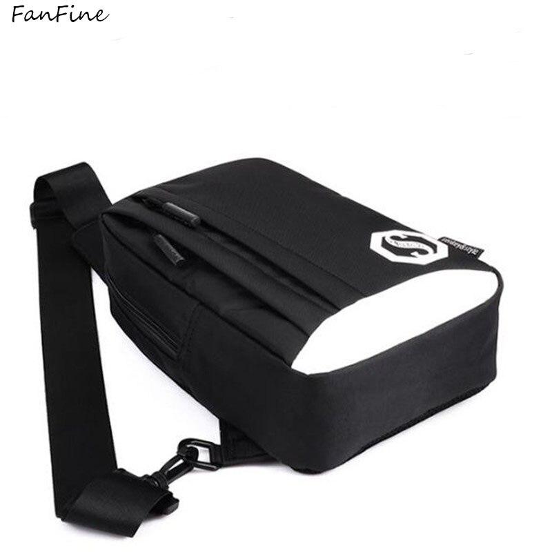 FanFine fashion women bag pack mountaineering walking shark backpack mens school bags Waist Bag hip Pack Leisure Mini Zip Bag