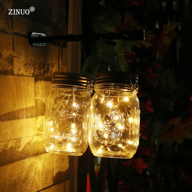 Zinuo rechargeable battery solar can outdoor lights colorful glass zinuo rechargeable battery solar can outdoor lights colorful glass string bottle lights sunshine lighting for festival mozeypictures Image collections