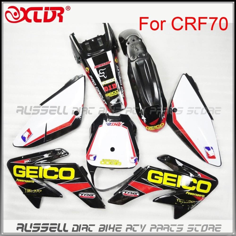 Графические наклейки, наклейки для HONDA CRF 70 CRF70, стильные наклейки для мотокросса, внедорожника 2004 - 2011