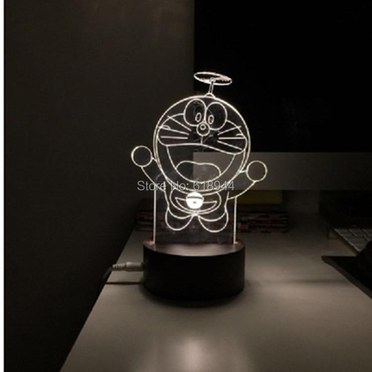 2016 Hot Selling Wooden Modern LED Desk Lamp Creative Fashion Bedroom Bedside Night Light Birthday Gift Dora A Dream