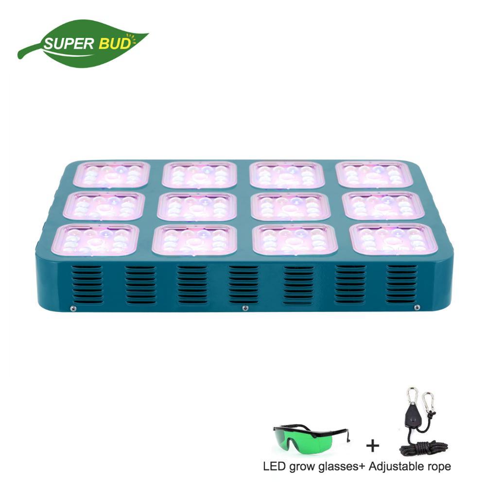Helios cresce a luz LED 3 watts LEDs CREE espectro completo lente óptica módulo design caixa de crescer plantas de interior/tenda sistema hidropônico