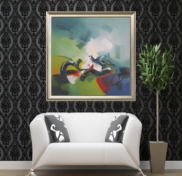 free shipping painting on canvas modern abstract painting