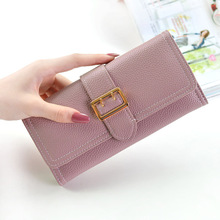 2018 New Women Wallet Long Cluth Bag Female Purse Coin Designer Brand Card Holder High Capacity Money Phone Purses
