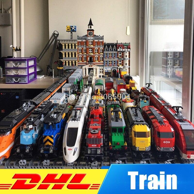 rl 21011 02 LepinTechnic Ultimate And City Series Train 02008 02009 02010 02039 21005 21006 21007 21011 21029 Buillding Blocks Bricks Toys