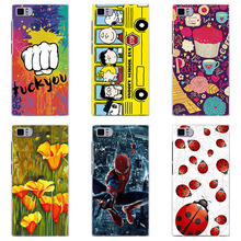 Soft TPU phone case cover For Xiaomi Mi3 phone shell Color p