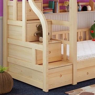 Camas madera nios pequeas cama futbol nios fbl sin - Muebles en madera de pino ...