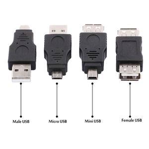 Image 4 - 10PCS Male to Male Female 5 Pin Mini Micro USB Extension Connector for Data Syncing Charging PC Laptop Tablet Notebook Smartphon