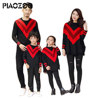 Family look christmas sweaters mommy and son matching outfit daddys girl big sister little sister matching set party costume P20