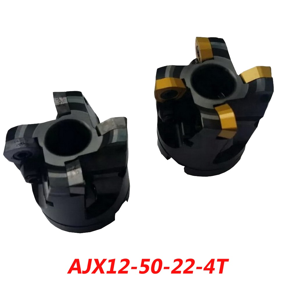 Free Shipping AJX12-50-22-4T High Feedrate Face Milling Cutter For MITSUBISHI Insert JDMW/T120420ZDSR