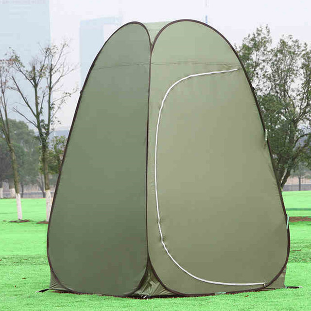 Portable waterproof Large Outdoor Bath Change Clothes Tent shower Fishing Mobile Toilet Tents green color lightweight & Portable waterproof Large Outdoor Bath Change Clothes Tent shower ...