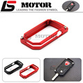 For DUCATI DIAVEL 2011-2015, MTS1200 Multistrada 1200 2010-2014 Red Motocycle Accessories Billet Aluminum Key Remote Cover Case