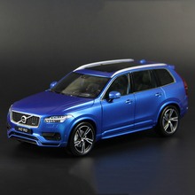 Blue/White Colors Car Model Toys 1/18 Welly GTA All New Volvo XC90 Sport Version Model Kids Gifts Collections Free Shipping