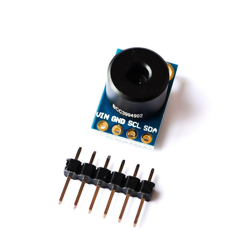 100% Origin MLX90614 MLX90614ESF Contactless Temperature Sensor Module With BBC Probe Compatible 3-5V100% Origin MLX90614 MLX90614ESF Contactless Temperature Sensor Module With BBC Probe Compatible 3-5V