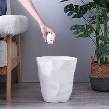Креативная неправильная мусорная корзина пластиковая мусорная корзина для домашнего офиса автомобиля