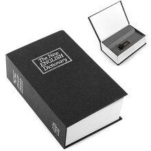 Kreative Deluxe Geheimnis Wörterbuch Buch Safe Schmuck Geld Versteckte Box Fall Sicherheitsschloss Strongbox Mit Nizza Geschenk für Freunde