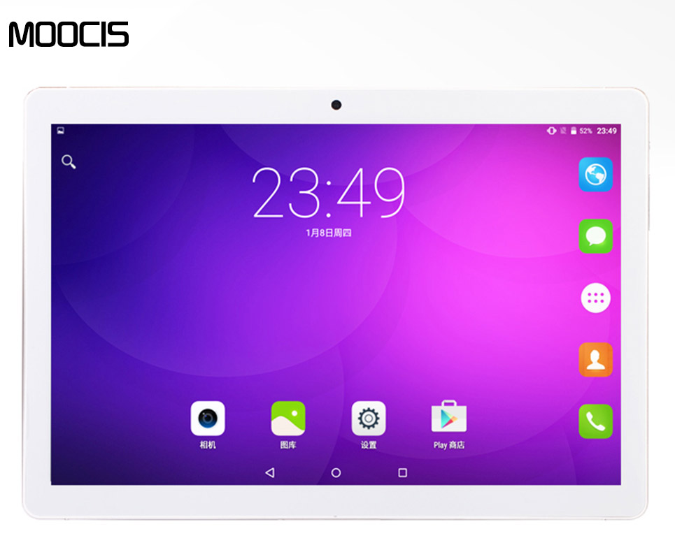 MOOCIS 2017 New 10 1 inch android6 0 tablet 1920 1200 4G LTE Phone Call MTK8752