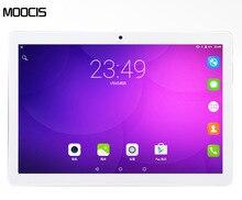 Android6.0 MOOCIS 2017 Nuevo 10.1 pulgadas de la tableta 1920*1200 4G LTE Teléfono Llamada MTK8752 Octa Core tablet PC IPS WiFi Bluetooth