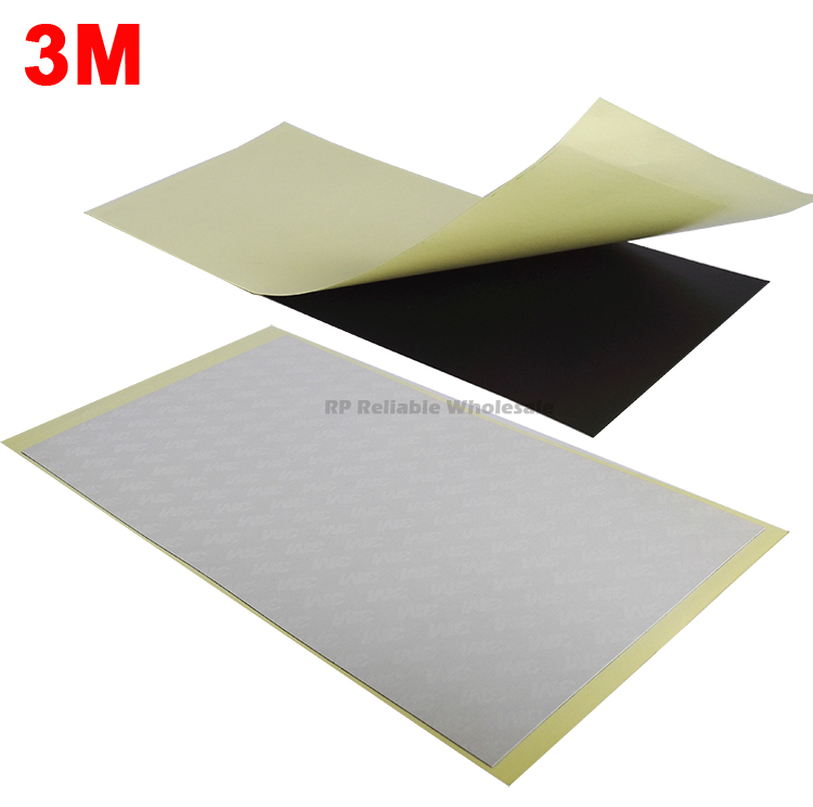 1 Sheet (100mmx200mm) 3M Double Sided Adhesive Black Sticker For LCD Panel Display Repair Light Mask