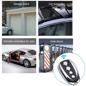 Image 5 - kebidu Mini Electric 4 Button 433Mhz For Car Rolling Code Remote Duplicator Garage Door Remote Control Opener Electric For Home