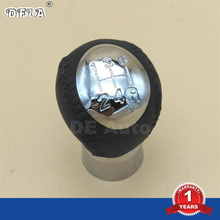 DFLA Para Mazda 3 5 6 323 626 Premacy MPV Rx8-Car Styling Manual de 5 Speed Gear Shift Knob Palo Manejar La Cabeza Cubierta de la Tapa de Cromo