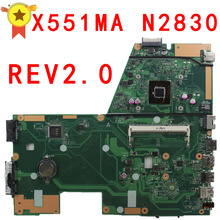 Для ASUS X551MA Материнская плата ноутбука/Тетрадь N2830/N2815 Процессор 60NB0480-MB1501-203, 100% тестирование перед кораблем