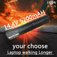 цена на HSW 14.8v 5200MAH laptop battery for HP Pavilion DV9000 DV9100 DV9200 DV9500 bateria akku