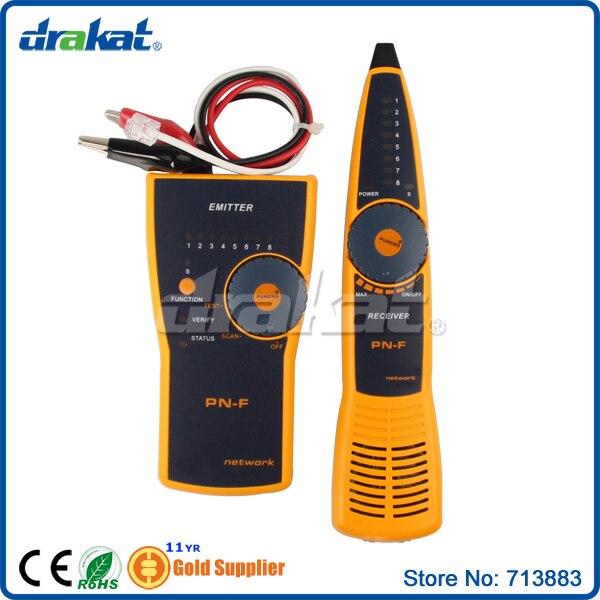Tonalité d'appareil de contrôle de traqueur de câble électrique pour le connecteur RJ45 RJ11