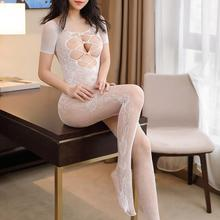 e649c0f92 Sexy appeal pajamas women s perspective is hollow-out jacquard open files  attached(China)