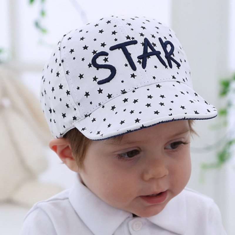 2018 New Baby Caps Unisex Girls Boys Baseball Hats Beanie Cartoon Summer Sun Hat Newborn 100% Cotton Visor photography