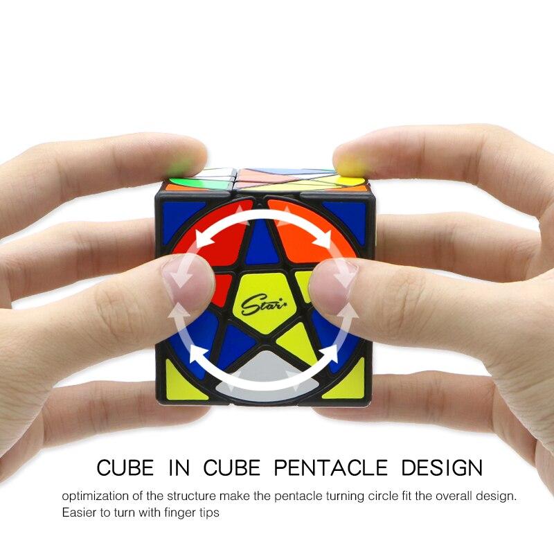 Image 5 - Кубик Пентакль Qiyi Mofangge, в форме геометрии, Звездный кубик, скоростной кубик, магические Кубики пазлы, игрушки для детей, развлечениеКубик головоломка   -