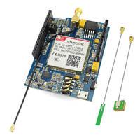 Elecrow GSM/GPRS/EDGE SIM5360E 3G Shield para Arduino Uno mega módulo A-GPS tarjeta micro SIM 3G Red eCall desarrollo
