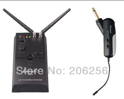 hot professional uhf wireless instrument system microphone receiver bm 5 transmitter 5a guitar. Black Bedroom Furniture Sets. Home Design Ideas