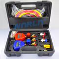 Manifold Gauge AC Digital Manifold Gauge set LCD Digital Dual Refrigerant Table Valve High and Low Refrigerant