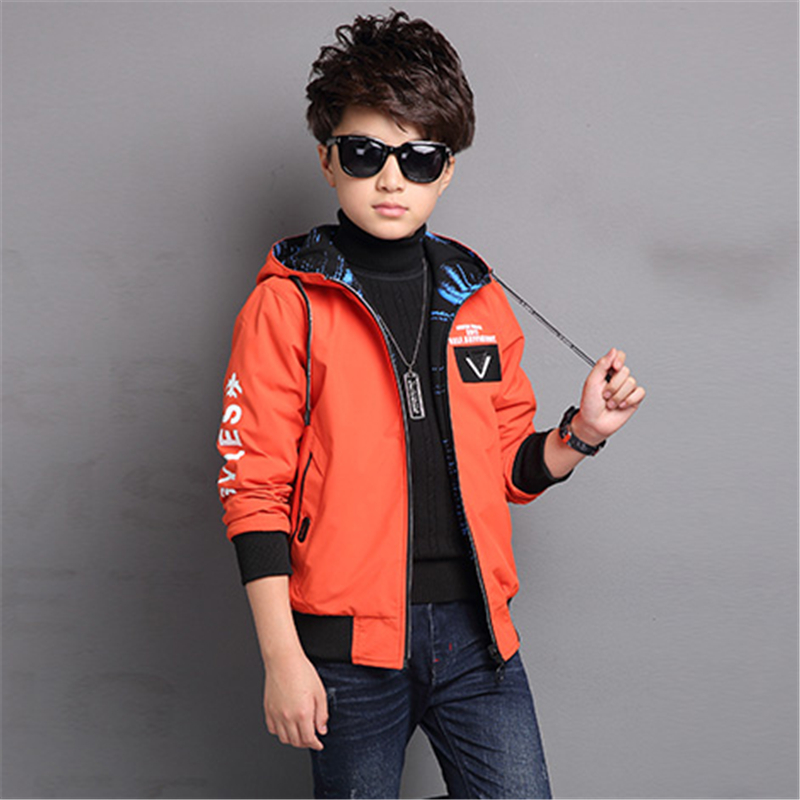 цена 2017 new children's clothing boy jacket in the big coat children autumn and winter clothing thick jacket