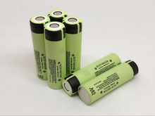 New Original Battery For Panasonic NCR18650B 3.7V 3400mah 18650 Rechargeable Lithium Batteries Laptop Flashlights