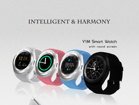 TUFEN New Y1M Bluetooth Smart Watch With Passometer Heart Rate Tracker Wristwatch Support BT Dial Message