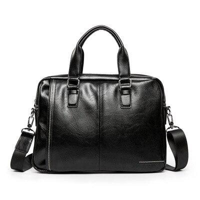 Mallette en cuir pour hommes homme pochette d'ordinateur en cuir naturel pour hommes Messenger sacs hommes porte-documents 2019 hot maletas