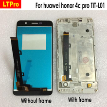 LTPro Full LCD Display + Touch Screen Digitizer Assembly For Huawei Honor 4C Pro TIT-L0 Phone Replacement Parts White/Black/Gold