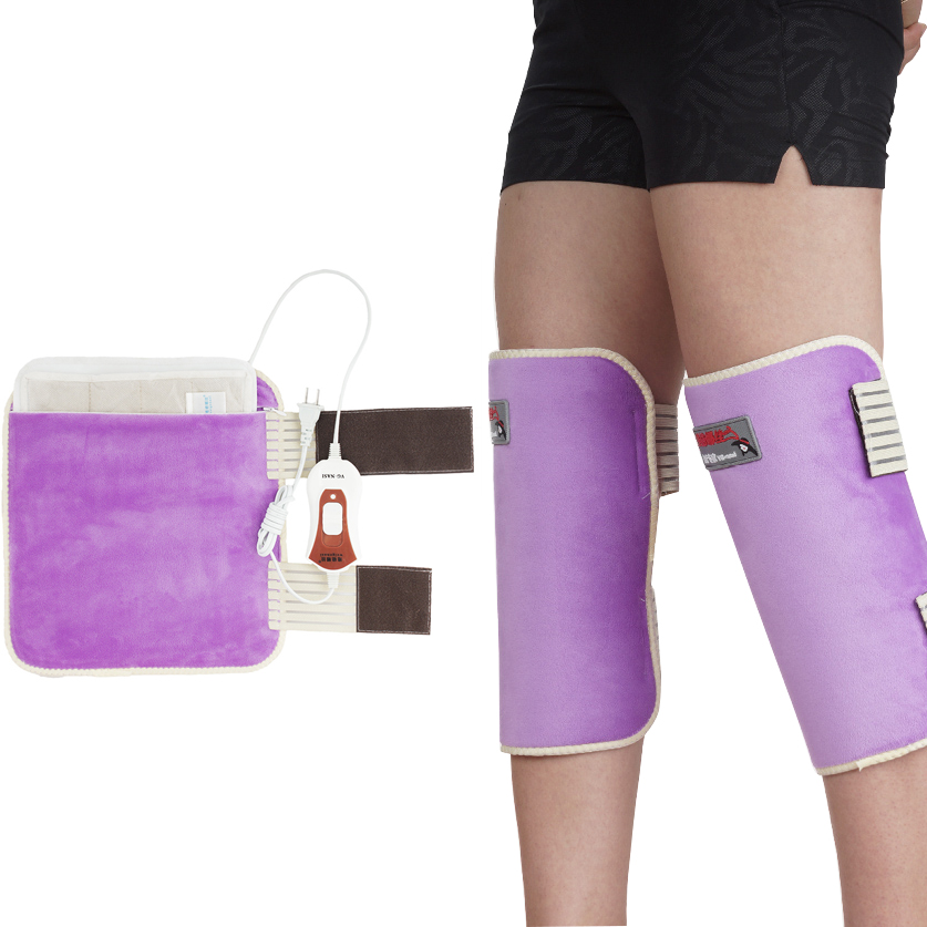 220V Heating Kneepad Knee Support Belt Knee Massager Warm Old Legs Of The Elderly Arthritis Fever Electric Knee Heat Treatment гигантский магнит на холодильник кот проглот