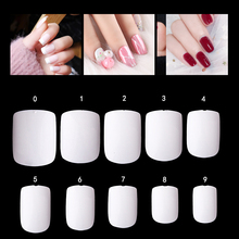 600 шт французские балерины поддельные гроб для ногтей натуральные накладные ногти прозрачные короткие кончики для ногтей ABS искусственные DIY маникюр Дизайн ногтей