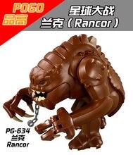 1PCS Rancor star wars building blocks figures city weapons original toys accessories lepin Minifigures POGO 634
